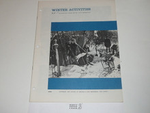 Winter Activities Boys' Life Reprint #BL-92, 1960's Printing