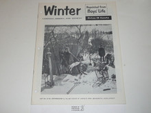 Winter Camping Hiking and Sports Boys' Life Reprint #6-92, 1950's Printing