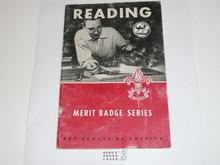 Reading  Merit Badge Pamphlet, 6-60 Printing