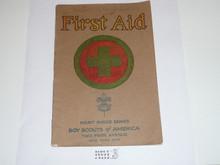 First Aid Merit Badge Pamphlet , 2-32 Printing