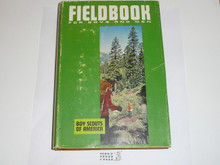 1967 Boy Scout Field Book, Second Edition, First Printing, Hardbound with dust jacket, MINT condition
