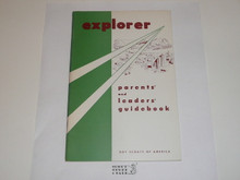 1966 Explorer Scout Parents' and Leaders' Guidebook, 12-66 Printing
