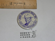 Dan Beard Scout Memorabilia Collector Celluloid Boy Scout Button