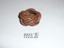 Wood Badge Leather Woggle