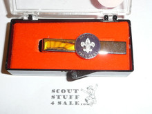National BSA President Tie Bar, New in Box