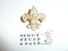 Tenderfoot Scout Rank Pin (Could be used as Generic Scouting Collar Pin), Spin Lock Clasp, 22mm Wide, Pat. 1911 back markings