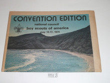 1974 64th Annual National Boy Scouts of America Meeting Program & Guide