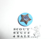 Boy Scout 10 Year Pin, Spin Back