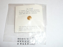 Commissioner Scout Emblem Knot Device Pin, not on issue