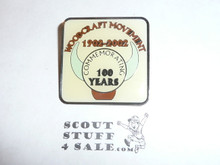 Woodcraft Rangers 100th Anniversary Pin, 2002