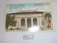 Reproduction of 1930's Post card of Philadelphia Boy Scout Building