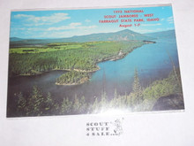 1973 National Jamboree WEST Post Card, Boating Area
