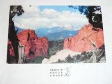 1960 National Jamboree Post Card, Pikes Peak