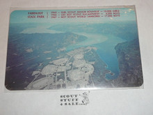 1967 World Jamboree Post Card, Ariel View of Farragut State Park #2