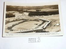1929 World Jamboree Post Card, Ariel View of Arrowe Park