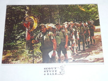 "Region Seven Canoe Base Post card, ""Woodbadge Training"" Patrol"