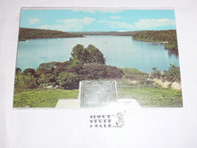 S-F Scout Camps Lake Post card