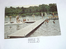 St. Louis Area Scout Camps waterfront Post card