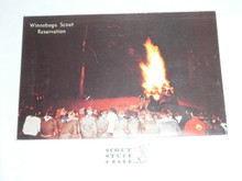 Winnebago Scout Reservation Campfire Post card