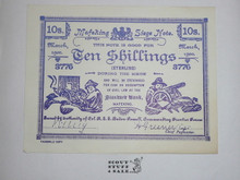 Facsimile Copy of a 10 Shilling Mafeking Siege Note
