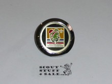 1973 National Jamboree Neckerchief Slide