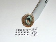 Mt. Allamuchy Scout Reservation Land of the Lanape 1980's Pin
