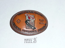 National Order of the Arrow Conference (NOAC), 1990 Leather Belt Buckle
