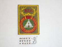 National Camp School c/e Patch