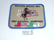 1997 National Jamboree Western Region Patch
