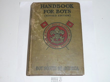 1917 Boy Scout Handbook, Second Edition (17th prtg), Every Boy's Library Edition, Type Two Binding, some wear