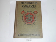 1916 Boy Scout Handbook, Second Edition, Every Boy's Library Edition, Type Two Binding, Mint condition but the spine is a little discolored