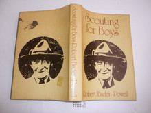 1977 Scouting for Boys, By Robert Baden-Powell, Hardbound with dust jacket, MINT