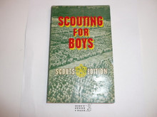 1963 Scouting for Boys, By Sir Robert Baden-Powell, Scouts' Edition, First Printing