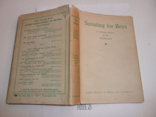 1950's Scouting for Boys, By Robert Baden-Powell, Facsimile edition of the original Fortnightly parts, Hardbound with Dust Jacket, MINT