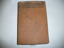 """1928 Scoutmastership, By Sir Robert Baden-Powell, """"American Edition"""", Third Printing, water damage"""