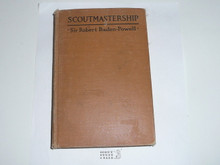 """1920 Scoutmastership, By Sir Robert Baden-Powell, """"American Edition"""""""