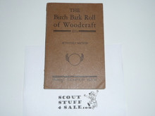 1931 Birchbark Roll of the Woodcraft Indians, Very Good Condition, By Ernest Thompson Seton