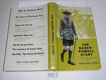 1963 The Baden-Powell Story, By Geoffrey Bond, Second printing, with dust jacket