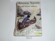 1920's Rovering to Success, By Lord Baden-Powell, Tenth printing, softbound