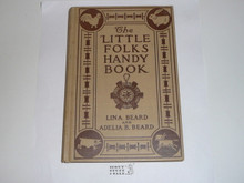 1920 American Boys' Handy Book of Camp-Lore & Woodcraft, By Dan Beard, First printing