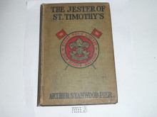 The Jester of St. Timothy's, By Arthur Stanwood Pier, 1913, Every Boy's Library Edition, Type Two Binding