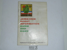 1973 National Jamboree Scout Guide and Diary, Some Light Use