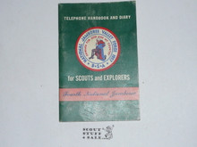 1957 National Jamboree Telephone Handbook and Diary