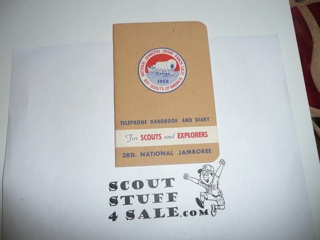 1953 National Jamboree Telephone Handbook and Diary