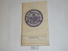 Philmont Training Center Notebook, undated