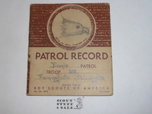 Patrol Record Book, 5-48 Printing
