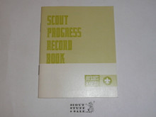 Scout Progress Record Book, 6-72 Printing