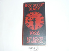 1926 Boy Scout Diary, MINT condition