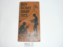 1923 Boy Scout Diary, MINT condition
