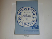 1968 Boy Scouts of America Annual Report to Congress